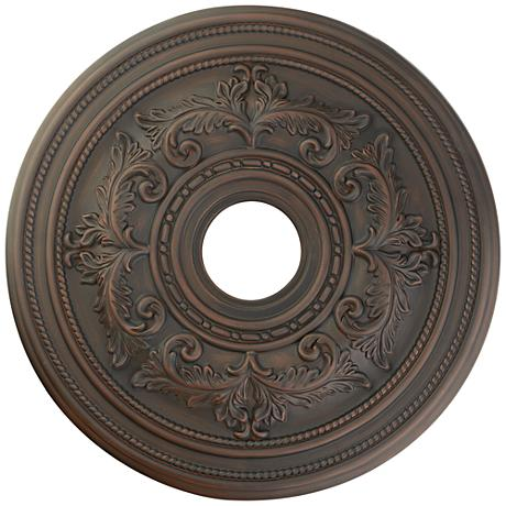 """Pascola 22 1/2"""" Wide Imperial Bronze Ceiling Medallion"""