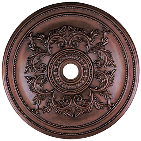 """Pascola 40 1/2"""" Wide Imperial Bronze Ceiling Medallion"""