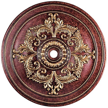 "Pascola 60"" Wide Verona Bronze Ceiling Medallion"