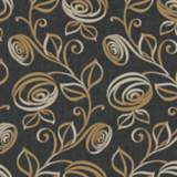 York Sure Strip Dark Gray Spiral Dance Removable Wallpaper