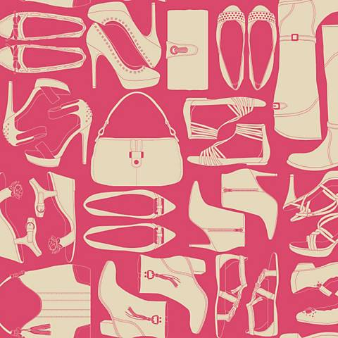 York Sure Strip Pink Obsession Removable Wallpaper