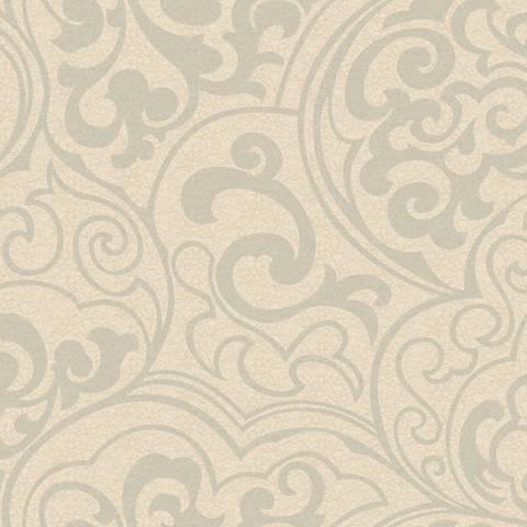 York Sure Strip Glitter Beige Divine Removable Wallpaper