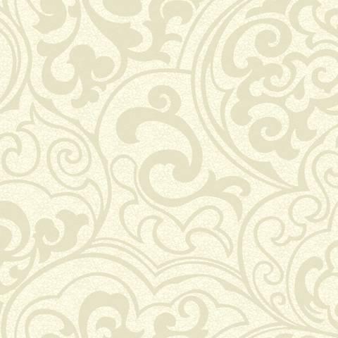 York Sure Strip Glitter Off-White Divine Removable Wallpaper
