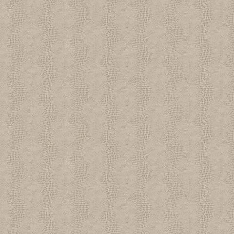 York Sure Strip Taupe Faux Leather Primal Wallpaper