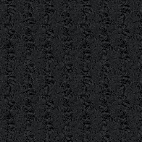 York Sure Strip Black Faux Leather Primal Wallpaper