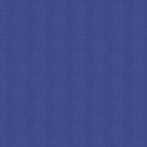 York Sure Strip Blue Faux Leather Primal Wallpaper