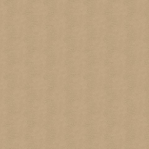 York Sure Strip Champagne Faux Leather Primal Wallpaper
