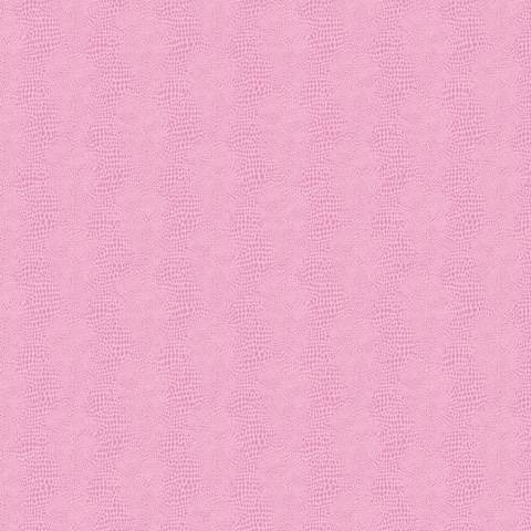 York Sure Strip Pink Faux Leather Primal Wallpaper