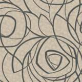 York Sure Strip Taupe Diamond Oasis Removable Wallpaper