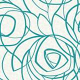 York Sure Strip Turquoise Diamond Oasis Removable Wallpaper