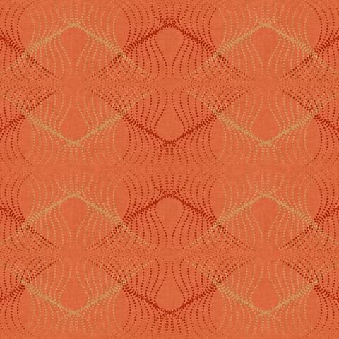 York Sure Strip Orange Optic Removable Wallpaper