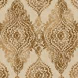 York Sure Strip Hazelnut Boho Chic Removable Wallpaper
