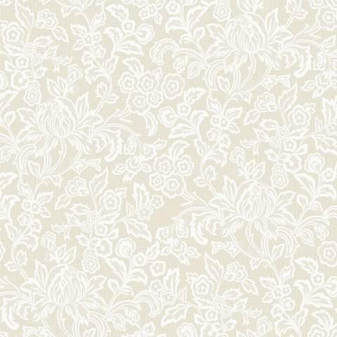 York Sure Strip Bridal White Empire Removable Wallpaper
