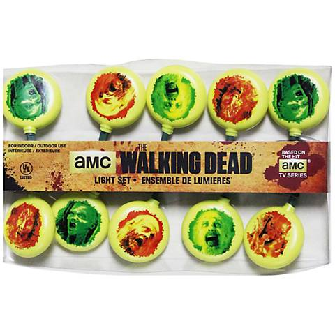 The Walking Dead Indoor 10-Light String
