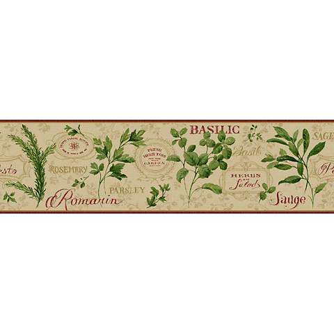 York Sure Strip Tan Aromatique Removable Wallpaper Border