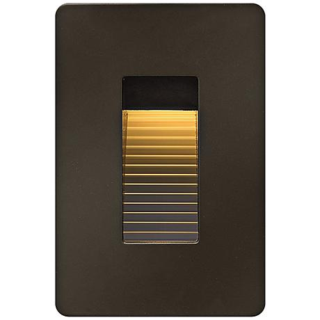 "Hinkley Luna 4 1/2"" High Bronze LED Step Light"