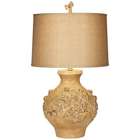 Kathy Ireland Home Petit Palais Multi-Beige Table Lamp