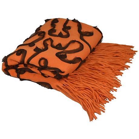 Hermes Embellished Cashmere Blend Chiffon Throw Blanket