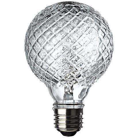 westinghouse 40 watt faceted halogen g25 globe vanity bulb 6h729 lamps plus