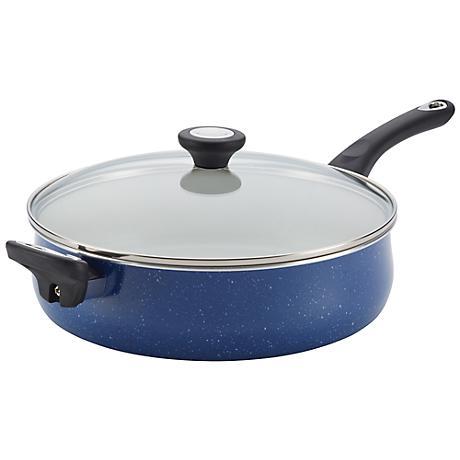 Farberware Speckled Aluminum Blue Nonstick Jumbo Cooker