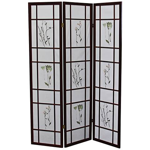 Umi Cherry 3-Panel Shoji Room Divider Screen
