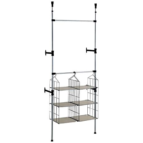 Honor Simple Modern Telescopic Towel and Clothing Rack