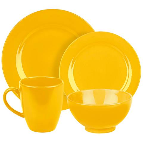 Fun Factory Buttercup 16-Piece Place Setting