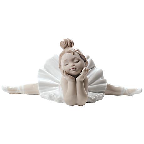 """Nao Ready for My Debut 8 3/4"""" Wide Porcelain Sculpture"""