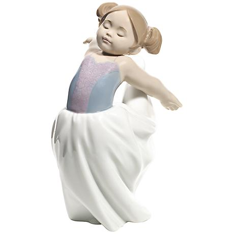 """Nao About to Go On Stage 7 1/2""""H Porcelain Sculpture"""
