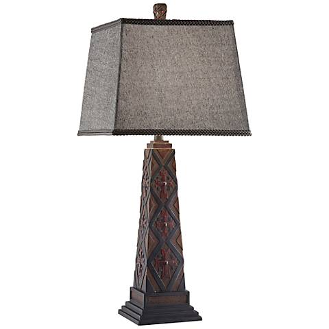 Crestview Collection Chief Table Lamp