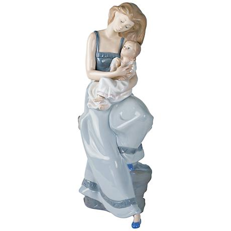 """Nao My Little Girl Blonde 14 1/2""""H Porcelain Sculpture"""