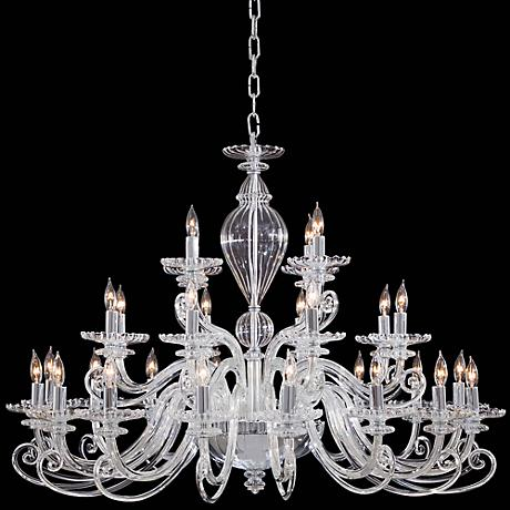 "Metropolitan Traditional 41"" Wide Clear Glass Chandelier"