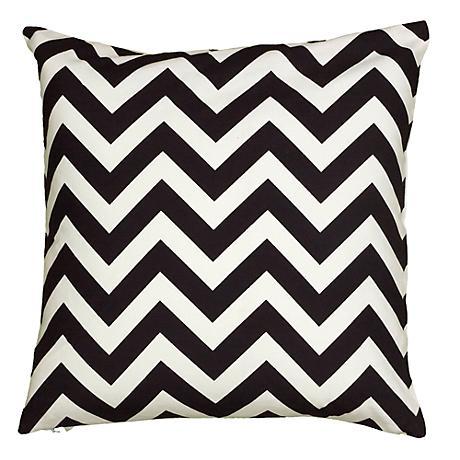 Black And White Chevron Throw Pillows : Black and White Chevron 18