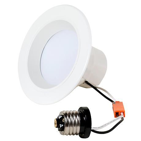 """6"""" Recessed 11.5 Watt LED Retrofit Trim in White"""