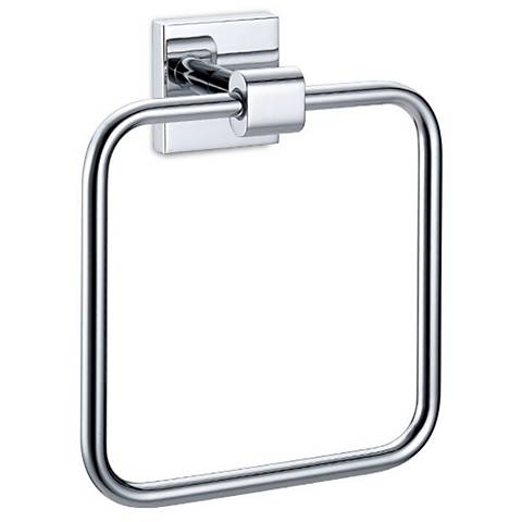 Gatco Elevate Chrome Towel Ring