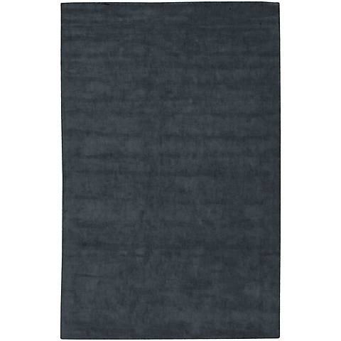 Chandra Gloria GLO18600 Charcoal Viscose Area Rug