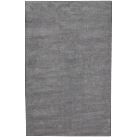Chandra Gloria GLO18604 Gray Viscose Area Rug