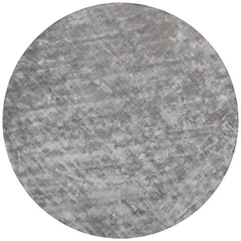 Chandra Gloria GLO18604 Gray Viscose Area Rug