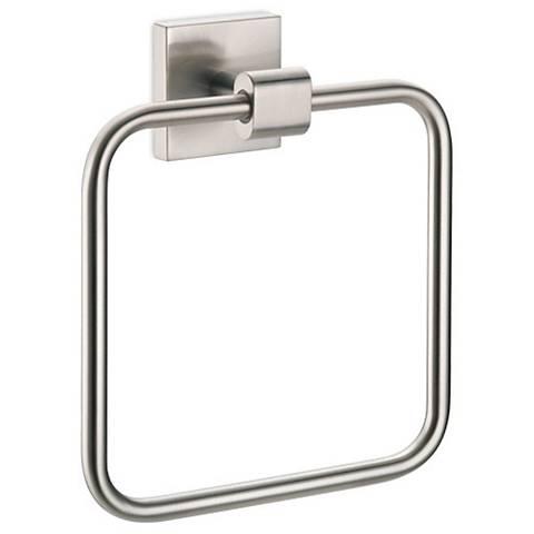 Gatco Elevate Satin Nickel Towel Ring