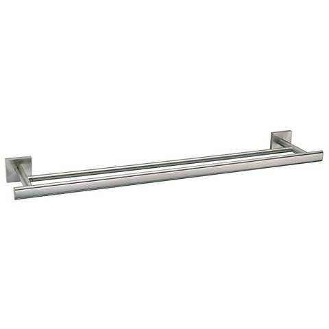 Gatco Elevate Satin Nickel Double Towel Bar