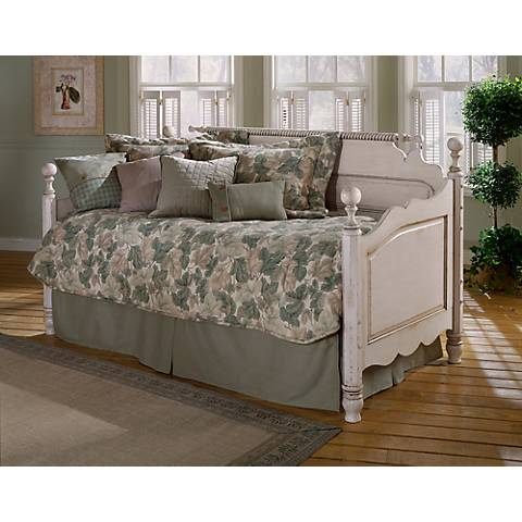 Hillsdale Wilshire Antique White Daybed