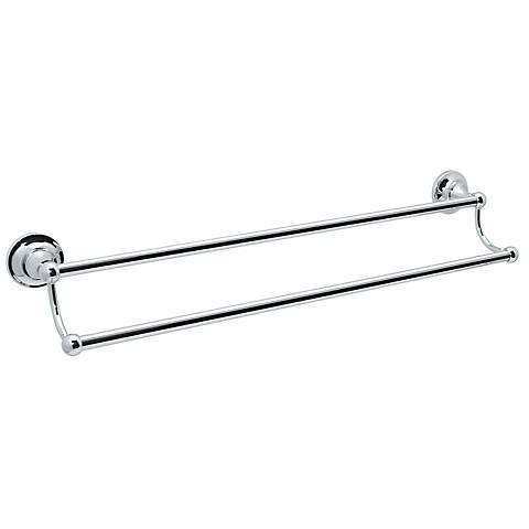 Gatco Tiara Chrome Double Towel Bar