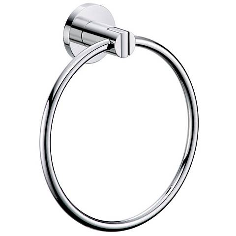 Gatco Channel Chrome Towel Ring