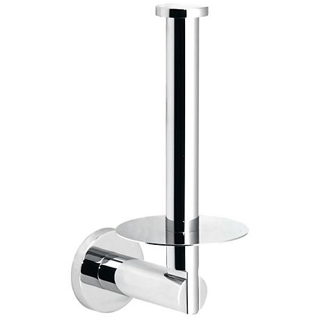 Gatco Channel Chrome Storage Toilet Paper Holder