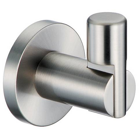Gatco Channel Satin Nickel Robe Hook