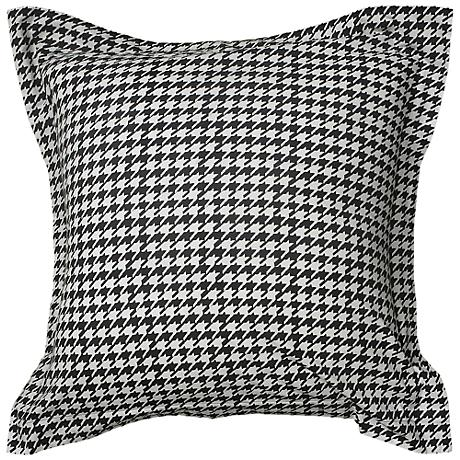 "Houndstooth 26"" Square Pillow Sham"
