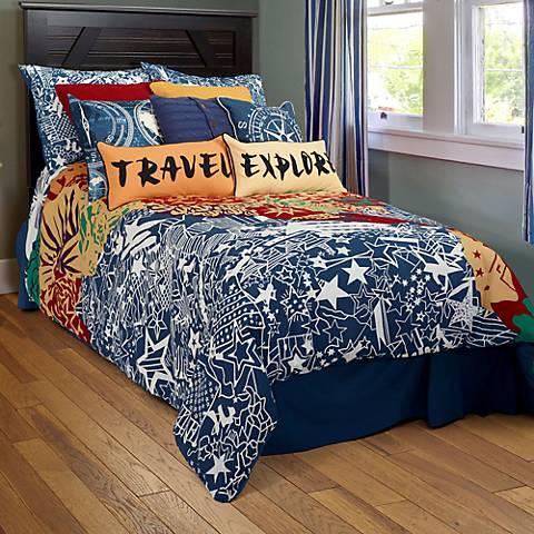 Travel and Explore Comforter Set