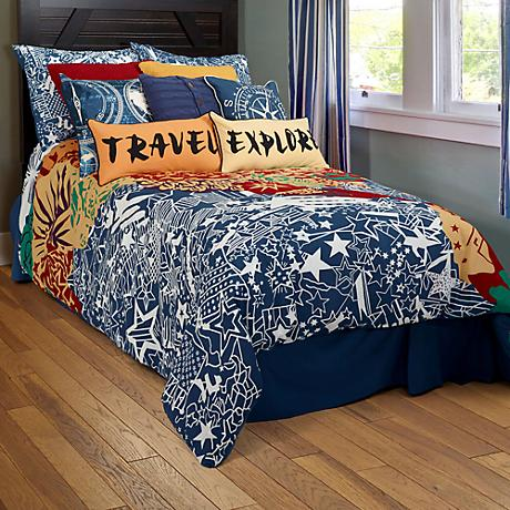 Travel and Explore Comforter Set