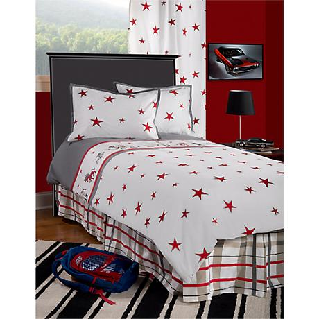Boys Punk Animal Stars Comforter Set