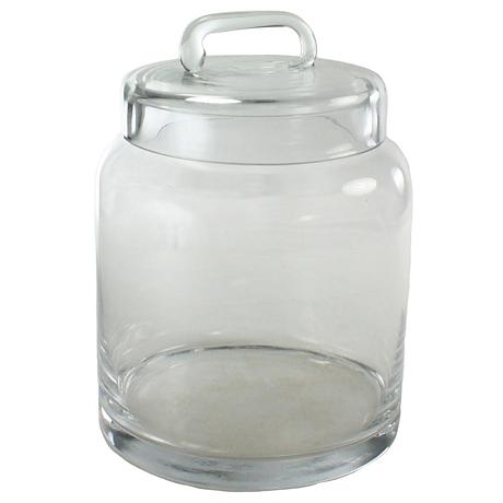 Smith Small Clear Glass Container